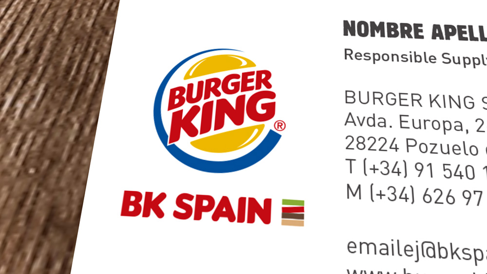 Diseño logotipo identidad corporativa Burger King Spain 3