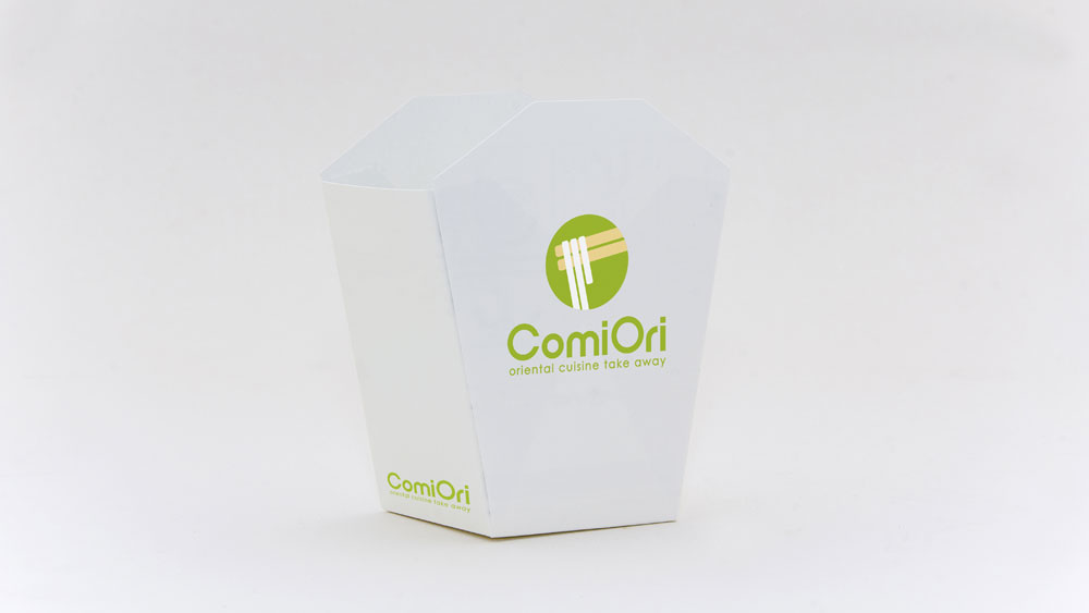 Diseño packaging Comiori